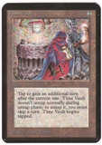 Magic the Gathering Alpha Single Time Vault UNPLAYED (NM/MT)