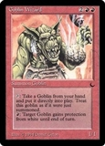 Magic the Gathering Dark Single Goblin Wizard LIGHT PLAY (NM)