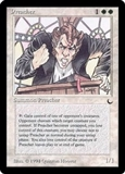 Magic the Gathering Dark Single Preacher UNPLAYED (NM/MT)