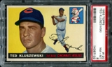 1955 Topps Baseball #120 Ted Kluszewski PSA 8 (NM-MT) *7132