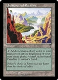 Magic the Gathering Visions Single Undiscovered Paradise UNPLAYED (NM/MT)