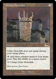 Magic the Gathering Urza's Legacy Single Grim Monolith - NEAR MINT (NM)