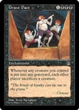 Magic the Gathering Stronghold Single Grave Pact UNPLAYED (NM/MT)