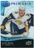 2009/10 Upper Deck Ice #169 Tyler Myers RC 33/99