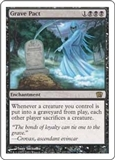 Magic the Gathering 8th Edition Single Grave Pact UNPLAYED (NM/MT)