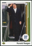 2009 Upper Deck 1989 Design #803 Ronald Reagan