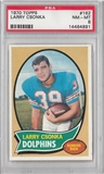 1970 Topps Football Larry Csonka PSA 8 (NM-MT) *4891