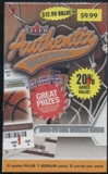 2003/04 Fleer Authentix Basketball Blaster Box