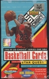 1998/99 Upper Deck Choice Series 1 Basketball Prepriced Box