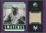 2003 SP Legendary Cuts #CM Christy Mathewson Historic Swatches Purple Pants #015/100