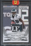 2010 Prestige Football #9 Jeremy Maclin Rookie Review Patch #1/1