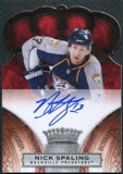 2010/11 Panini Crown Royale #167 Nick Spaling RC Autograph /499