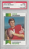 1973 Topps Football Steve Spurrier PSA 8 (NM-MT) *4256