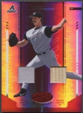 2004 Leaf Certified Materials #156 Randy Johnson Mirror Combo Red Bat Jersey #226/250