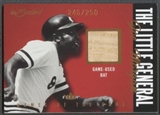 2004 Fleer InScribed #JM Joe Morgan Bat Names of the Game Material Copper #246/250