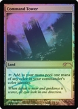 Magic the Gathering Judge Promo Single Command Tower FOIL - NEAR MINT (NM)