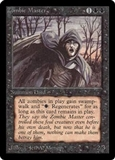 Magic the Gathering Beta Single Zombie Master UNPLAYED (NM/MT)