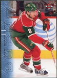 2009/10 Fleer Ultra Ice Medallion #180 Brent Burns /100
