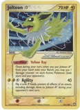 Pokemon Power Keepers Single Jolteon Gold Shining Star 101/108 - MODERATE PLAY