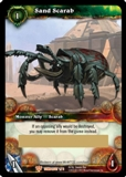 WoW Aftermath: Tomb of the Forgotten Sand Scarab Unscratched Loot Card