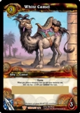 WoW Aftermath: Tomb of the Forgotten White Camel Unscratched Loot Card