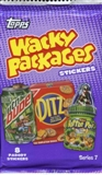 Wacky Packages Series 7 Trading Card Retail Pack (Topps 2010)
