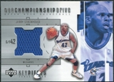 2002/03 Upper Deck Championship Drive Key Pieces Jersey #JSKP Jerry Stackhouse