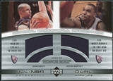 2002/03 Upper Deck Honor Roll Dual Warm-ups #JKKM Jason Kidd Kenyon Martin