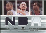 2002/03 Upper Deck Honor Roll Triple Warm-ups #KMJKRJ Kenyon Martin Jason Kidd Richard Jefferson