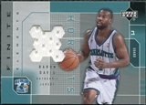 2002/03 Upper Deck Finite Elements Jerseys #BDJ Baron Davis
