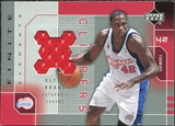 2002/03 Upper Deck Finite Elements Jerseys #EBJ Elton Brand