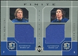 2002/03 Upper Deck Finite Elements Dual Warm-Ups #DNSN Dirk Nowitzki Steve Nash