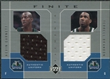 2002/03 Upper Deck Finite Elements Dual Uniforms #KGTBU Kevin Garnett Terrell Brandon