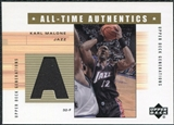 2002/03 Upper Deck Generations All-Time Authentics #KMA Karl Malone
