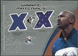 2002/03 Upper Deck SPx Winning Materials #MJW Michael Jordan Shirt SP Jersey