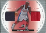 2002/03 Upper Deck Materials Combo #4 Lamar Odom