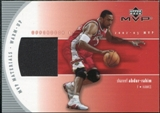 2002/03 Upper Deck Materials Warm Up #SAW Shareef Abdur-Rahim