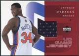 2002/03 Upper Deck UD Game Jerseys 1 #MC Antonio McDyess H