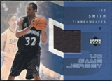 2002/03 Upper Deck UD Game Jerseys 1 #JSRJ Joe Smith R