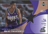 2002/03 Upper Deck All-Star Authentics Warm-Ups #RAAW Ray Allen