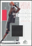 2002/03 Upper Deck SP Game Used #72 Dikembe Mutombo Jersey