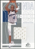 2002/03 Upper Deck SP Game Used #101 Courtney Alexander Jersey