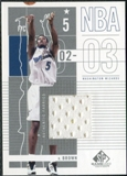 2002/03 Upper Deck SP Game Used #102 Kwame Brown Jersey