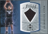 2002/03 Upper Deck Sweet Shot Sweet Swatches #WSS Wally Szczerbiak