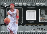 2002/03 Upper Deck Generations Reel Time Jersey #AIJ Allen Iverson