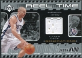2002/03 Upper Deck Generations Reel Time Jersey #JKJ Jason Kidd
