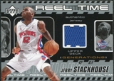 2002/03 Upper Deck Generations Reel Time Jersey #JSJ Jerry Stackhouse