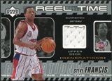 2002/03 Upper Deck Generations Reel Time Jersey #SFJ Steve Francis