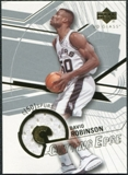2003/04 Upper Deck UD Glass Cutting Edge Jerseys #CEDR David Robinson /100