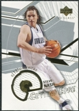 2003/04 Upper Deck UD Glass Cutting Edge Jerseys #CESN Steve Nash /100
